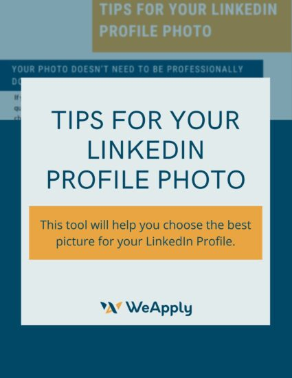 Tips for Your LinkedIn Profile Photo, Career Resources
